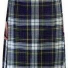 Ladies Full Length Kilted Skirt, 28 Waist Size Dress Gordon Tartan Pleated Kilt-Skirt