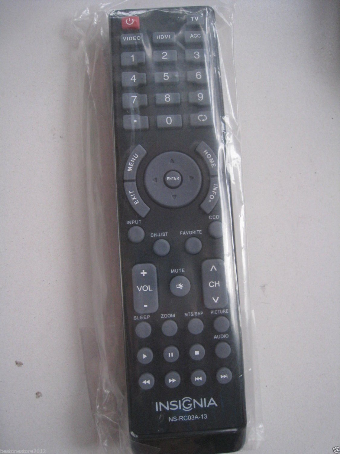 New Insignia LCD LED TV Remote NS-RC03A-13 Sub NS-RC6NA-14 RC-201-0A NS-RC05A-11