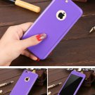 New iPhone 6 Purple Luxury Hybrid Tempered Glass Acrylic Hard Case Cover
