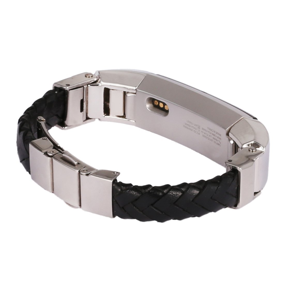 Leather Band for Fitbit Alta Replacement Bands Black Colour