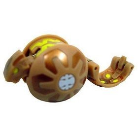 +NEW+ Bakugan Brown Serpenoid Figure LOOSE +FREE SHIP+