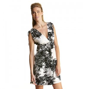 JB by Julie Brown JULES VNECK DRESS Color: Reflections; Size: P