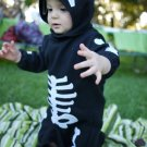 Baby Skeleton Costume Infant (USA size 1-2)