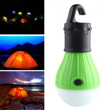 LED CAMPING LANTERN LIGHT BULB LAMP OUTDOOR TENT BACK PACKING LIGHT WITH HOOK