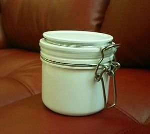 Canister Jar Strong Sturdy Compact For Coffee Tea Sugar Jam Jelly  Preserve, NEW