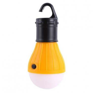 3 LED Light Outdoor Hanging Camping Tent Light Bulb, Fishing Lantern Lamp, US