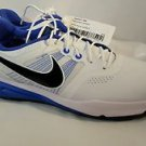 Nike Lunar Command Golf Shoe Size 10 White/Black Lyon Blue