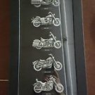 Harley Davidson Motorcycles In The 80s, Black Pewter Dothan, AL Biker Wall Art