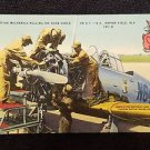 VINTAGE  POSTCARD MECHANICS NAPIER FIELD ALABAMA..b
