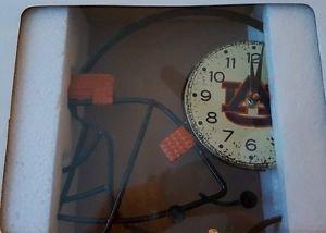 Auburn Tigers Helmet Style Wall Clock NIP