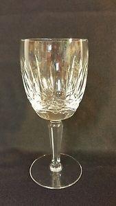 """Vintage Waterford Crystal KILDARE Water Goblet Stem 7"""""""