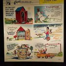 VINTAGE SALESMAN SAMPLE SHEET POSTCARDS...COMICS 60..d