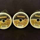 Maxima Clear 5 lbs 27yds Leader Material Fishing Line 3 PACK