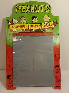 SUPER SLATE FUN MAGIC SLATE 1961 PEANUTS