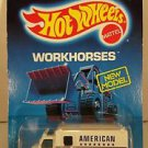 Hot Wheels WORKHORSES AMBULANCE