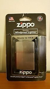Zippo 205 BP Reg Satin Chrome Lighter