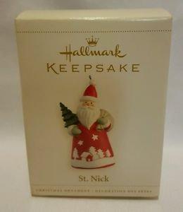 Hallmark Keepsake Ornament ST NICK jp