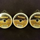 Maxima Clear 15 lbs 27yds Leader Material Fishing Line 3 PACK