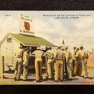VINTAGE  POSTCARD WILDCATS 81ST DIVISION LAIR CAMP RUCKER ALABAMA