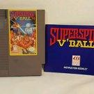 SUPERSPIKE V-BALL with manual NES NINTENDO ENTERTAINMENT SYSTEM