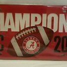 Alabama Crimson Tide 2014 SEC Football Champions License Plate