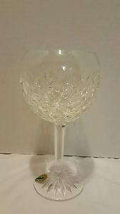 Waterford Pallas 16 OZ Capacity Goblet with Unique Diamond Pattern.