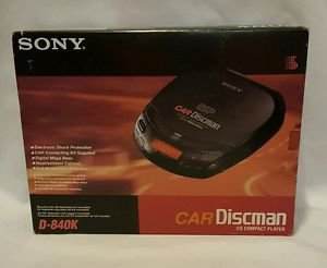 Sony Car Discman D-840K CD Player