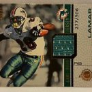 Lamar Sith 2001 Crown Royale Game Worn Jerseys #8 Lamar Smith