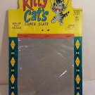 SUPER SLATE FUN MAGIC SLATE 1961 KITTY CATS no pen