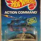 Hot Wheels ACTION COMMAND RADAR RANGER black wheels