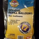 New Sealed Balzac Official Balloon Ball Official Refill Balloons 1998 pack of 10