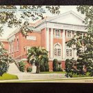VINTAGE  POSTCARD FIRST BAPTIST CHURCH DOTHAN ALABAMA