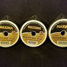 Maxima Clear 20 lbs 27yds Leader Material Fishing Line 3 PACK