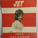 VINTAGE JET CALENDAR 1964 AFRICAN AMERICAN WOMEN IN SWIMSUITS 1964