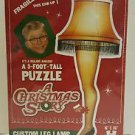 A Christmas Story - 3 Foot Tall Custom Leg Lamp Shaped Puzzle - 500 Pieces