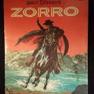 Vintage 1958 Walt Disney's ZORRO A Golden Book