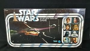 Vintage Star Wars 1977 ESCAPE FROM DEATH STAR GAME, SEALED