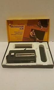Vintage 1974  Kodak Tele-Instamatic 608 Camera in Orig. Box