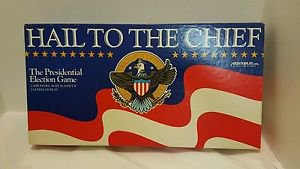 Vintage Board Game Hail to the Chief by Aristoplay 2-4 Players 10-Up