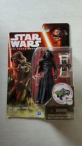 Star Wars The Force Awakens Hasbro 3 3/4 Kylo Ren Figure