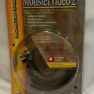 MonsterVideo2 Gold Plated S-video Cable & Audio Stereo Cable 1.5m/4.9ft