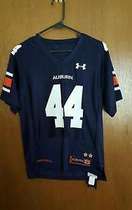 Auburn Tigers Under Armour #44 Logo Nylon Mesh Jersey  Sz Youth Medium