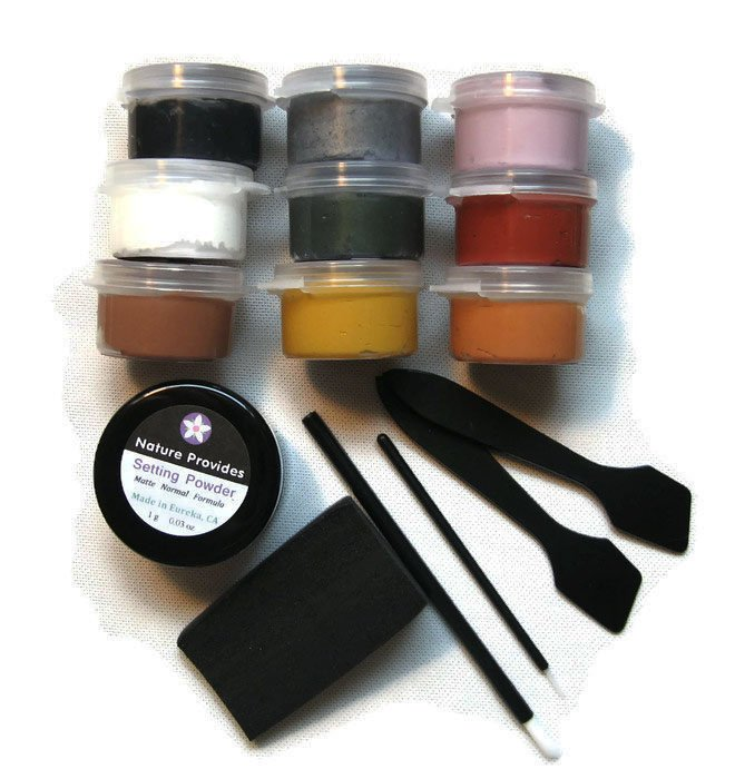 Face Paint Kit Water Activated Vegan No Nanomaterials for Fantasy and Party Wear