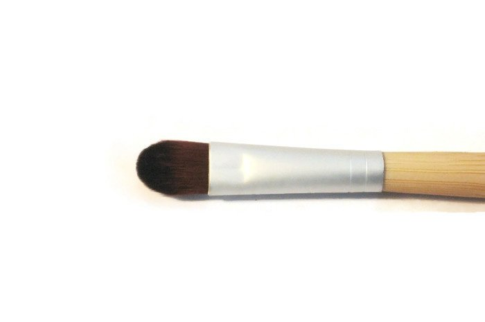 Eye Shadow Vegan Makeup Brush for Mineral Long Handle of eco Friendly Bamboo