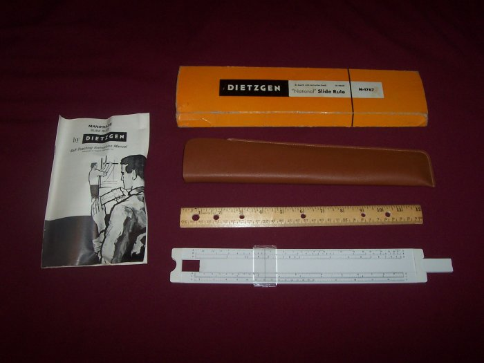 "DIETZGEN - ""National"" Slide Rule N-1767"
