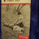 Boy Scouts of America - Merit Badge Series - First Aid Book