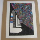 Ovadia Alkara  (Israel, 1939)  Hand Signed Limited Edition Lithograph