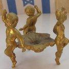 Spectacular Vintage Nude Boys Bronze Figurine