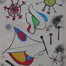Joan Miró (Spanish, 1893–1983) watercolor and ink on paper