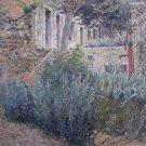 Henri Le Sidaner (French, 1862–1939) oil on panel